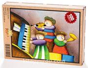 Çocuk Trio Ahşap Puzzle 108 Parça (CK06-C)