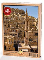 Mardin ve Şehidiye Camii Ahşap Puzzle 108 Parça (DI02-C)