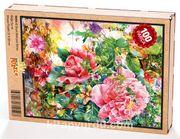 Çiçek Bahçesi Detay Ahşap Puzzle 108 Parça (DG04-C)