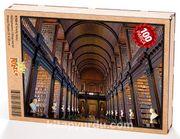 Trinity Kolej Kütüphanesi Ahşap Puzzle 108 Parça (KT02-C)