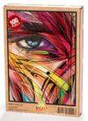 Renkli Yüz Ahşap Puzzle 108 Parça (KJ01-C)