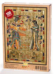 Tutankamon Sunuş Ahşap Puzzle 108 Parça (MS01-C)