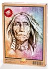 Yaşlı Kızılderili Ahşap Puzzle 108 Parça (PT02-C)