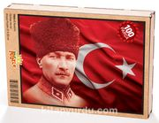 Atatürk Ahşap Puzzle 108 Parça (TR04-C)