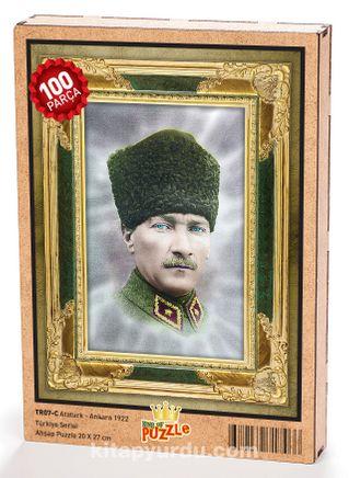 Atatürk - Ankara 1922 Ahşap Puzzle 108 Parça (TR07-C)