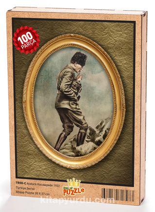 Atatürk Kocatepe'de 1922 Ahşap Puzzle 108 Parça (TR08-C)