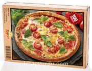 Pizza Ahşap Puzzle 108 Parça (YI02-C)