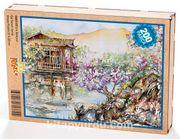 Çin Bahçesi Ahşap Puzzle 204 Parça (CS03-CC)