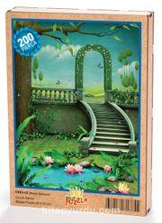 Masal Bahçesi Ahşap Puzzle 204 Parça (CK03-CC)