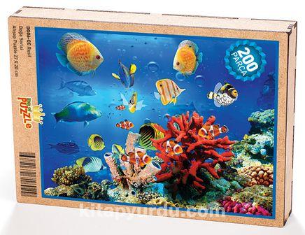 Resif Ahşap Puzzle 204 Parça (DG06-CC)