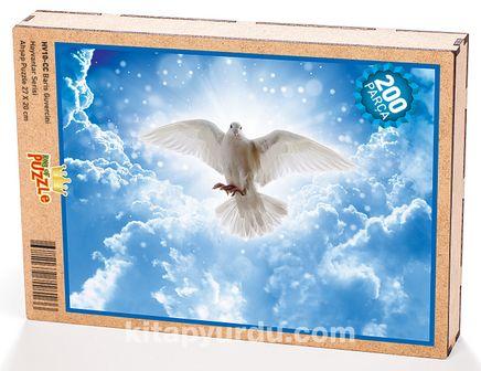 Barış Güvercini Ahşap Puzzle 204 Parça (HV10-CC)