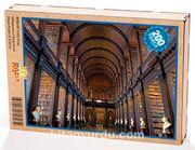 Trinity Kolej Kütüphanesi Ahşap Puzzle 204 Parça (KT02-CC)