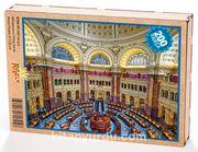 ABD Kongre Kütüphanesi Ahşap Puzzle 204 Parça (KT04-CC)