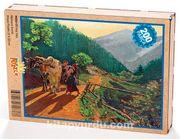 Köy Yolu Ahşap Puzzle 204 Parça (MZ02-CC)