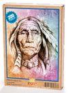 Yaşlı Kızılderili Ahşap Puzzle 204 Parça (PT02-CC)