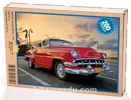 Chevrolet Bel Air - 1954 Ahşap Puzzle 204 Parça (TT01-CC)