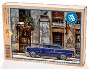 Havana Sokağı ve Mavi Plymouth  Ahşap Puzzle 204 Parça (TT03-CC)