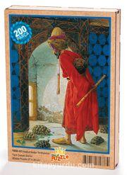 Kaplumbağa Terbiyecisi Ahşap Puzzle 204 Parça (TS02-CC)