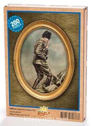 Atatürk Kocatepe'de 1922 Ahşap Puzzle 204 Parça (TR08-CC)