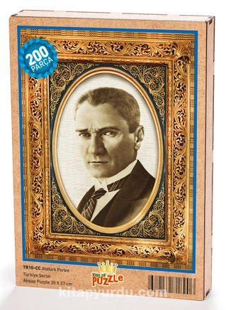 Atatürk Portre Ahşap Puzzle 204 Parça (TR10-CC)