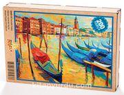 Venedik İtalya Ahşap Puzzle 204 Parça (UK03-CC)