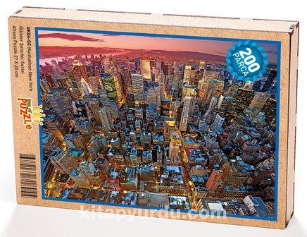 Manhathan New York Ahşap Puzzle 204 Parça (UK04-CC)