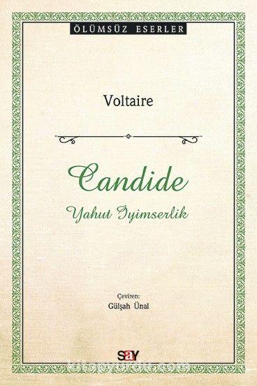 CandideYahut İyimserlik - Voltaire pdf epub