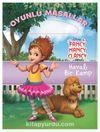 Disney Fancy Nancy Clancy Havalı Bir Kamp Oyunlu Masallar Kitabı