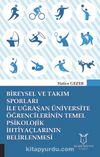 Bireysel ve Takım Sporları İle Uğraşan Üniversite Öğrencilerinin Temel Psikolojik İhtiyaçlarının Belirlenmesi