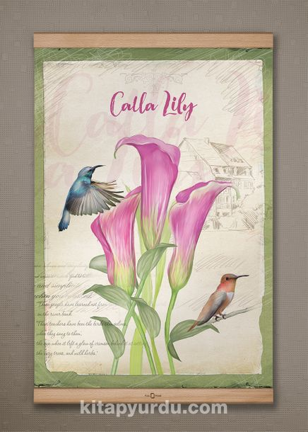 Full Frame Kanvas Poster - Lily - KAYIN (FFK-BC05)