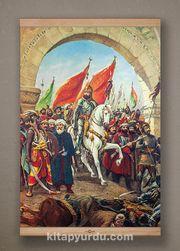 Full Frame Kanvas Poster - Fatih'in İstanbul'u - KAYIN (FFK-TR05)