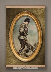 Full Frame Kanvas Poster - Atatürk Kocatepe'de 1922 Kayın (FFK-TR01)