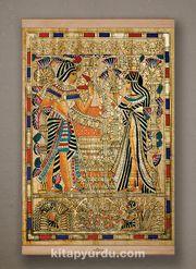 Full Frame Kanvas Poster - Tutankamon Sunuş - KAYIN (FFK-MS01)