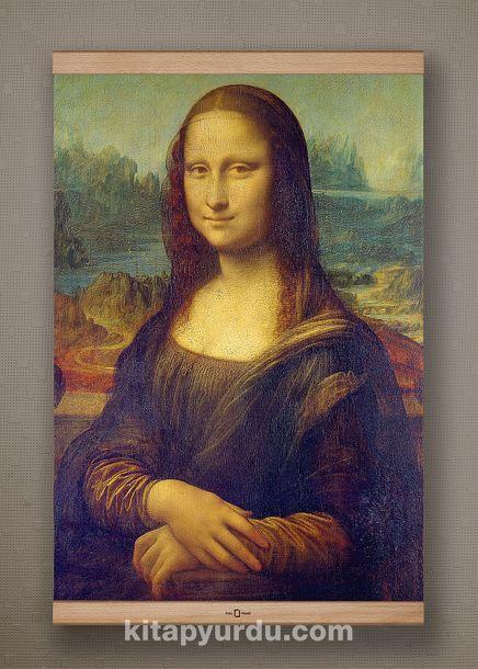 Full Frame Kanvas Poster - Mona Lisa / Leonardo da Vinci - KAYIN (FFK-KR01)