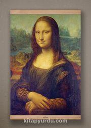 Full Frame Kanvas Poster - Mona Lisa / Leonardo da Vinci  Kayın (FFK-KR01)