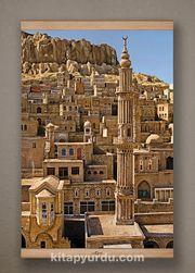 Full Frame Kanvas Poster - Mardin ve Şehidiye Camii Kayın (FFK-DI01)