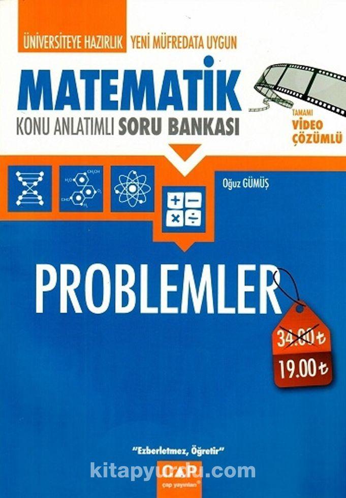 Üniversiteye Hazırlık Matematik Problemler Konu Anlatımlı Soru Bankası PDF Kitap İndir