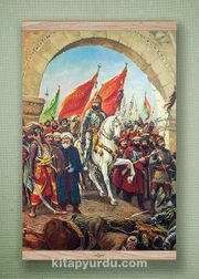 Full Frame Kanvas Poster - Fatih'in İstanbul'u Meşe (FFM-TR06)