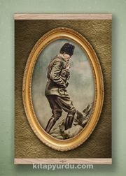 Full Frame Kanvas Poster - Atatürk Kocatepe'de 1922 - MEŞE (FFM-RT02)