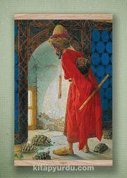 Full Frame Kanvas Poster - Kaplumbağa Terbiyecisi - MEŞE (FFM-TS02)