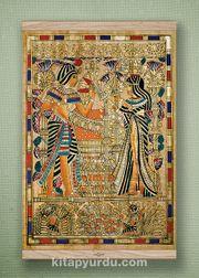 Full Frame Kanvas Poster - Tutankamon Sunuş Meşe (FFM-MS02)