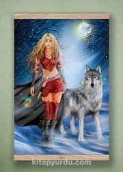 Full Frame Kanvas Poster - Kurtların Kraliçesi - MEŞE (FFM-MF02)
