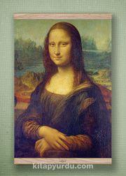 Full Frame Kanvas Poster - Mona Lisa / Leonardo da Vinci - MEŞE (FFM-KR02)