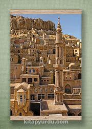 Full Frame Kanvas Poster - Mardin ve Şehidiye Camii Meşe (FFM-DI02)