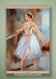 Full Frame Kanvas Poster - Balerin Meşe (FFM-DM02)