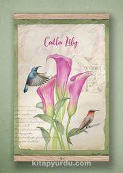 Full Frame Kanvas Poster - Lily - MEŞE (FFM-BC06)