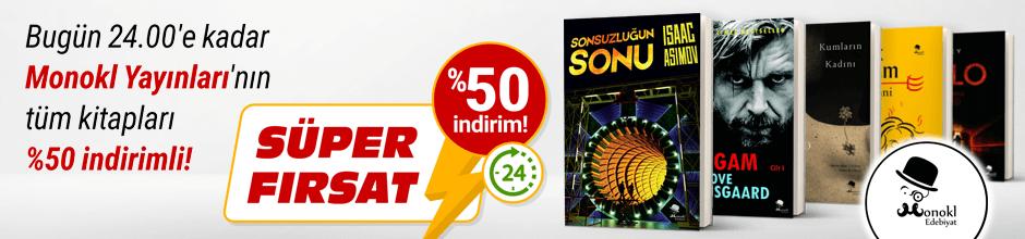 Bugüne Özel Monokl Yayınları %50 indirimli!