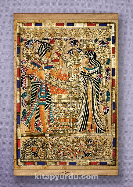 Full Frame Kanvas Poster - Tutankamon Sunuş - SAPELLI (FFS-MS03)