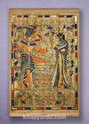 Full Frame Kanvas Poster - Tutankamon Sunuş Sapelli (FFS-MS03)