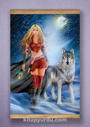 Full Frame Kanvas Poster - Kurtların Kraliçesi - SAPELLI (FFS-MF03)